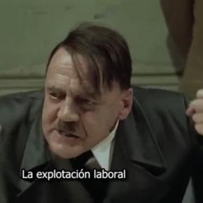 La reacción de Hitler al enterarse de la vuelta deAzkoina
