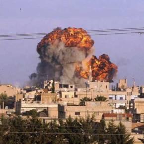 Siria, Gerra Eszenatokia